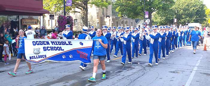 Middle School Marching Band 1